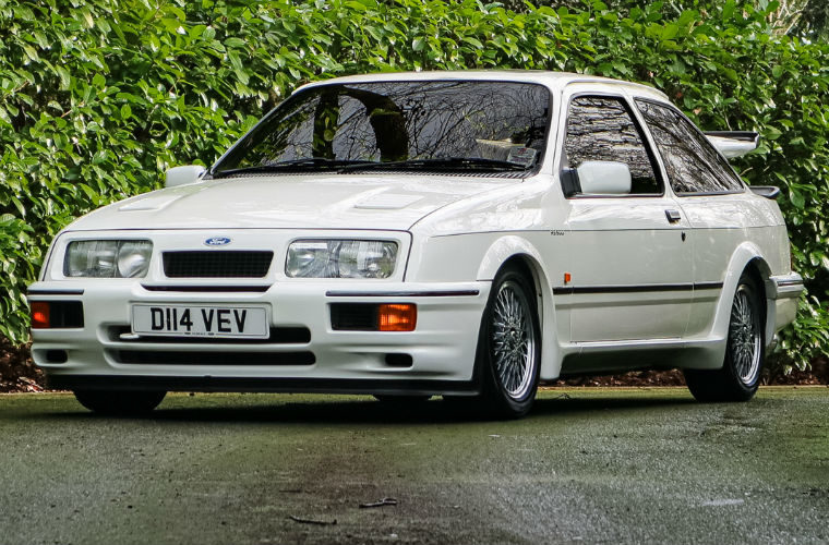 One of only four Ford RS500 prototypes to be auctioned off at Race Retro
