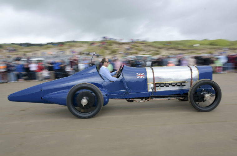 Land speed record-breaking 1920 Sunbeam 350hp gets new gearbox