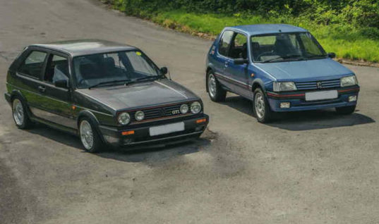 1980'S hot hatches preferred over modern supercars, figures suggest