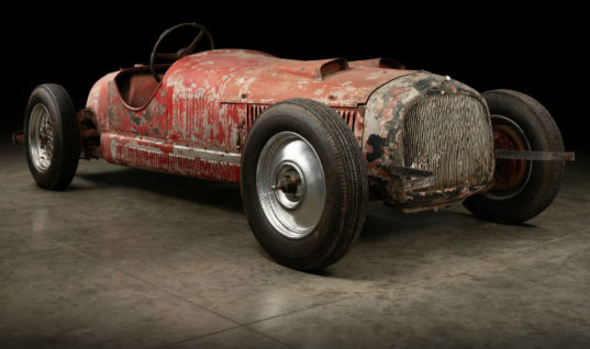 Specialist begins restoration on rare Alfa Romeo 6C 1750 SS