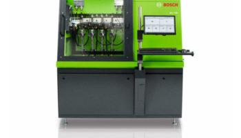 Bosch develops new diesel test bench for common rail injectors