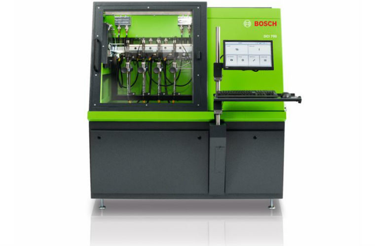 Bosch develops new diesel test bench for common rail injectors