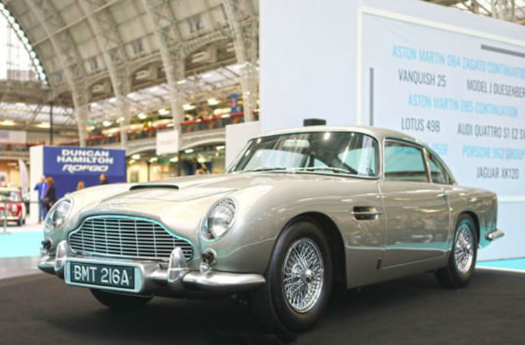 New limited edition Aston Martin DB5s set to roll off the production line