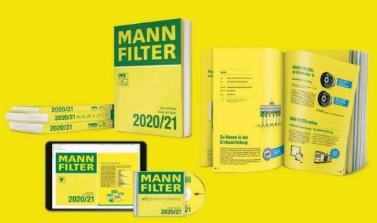 MANN+HUMMEL releases 2020/21 MANN FILTER catalogues