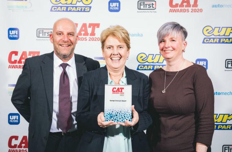 AutoCare wins Garage Concept Award at CAT Awards