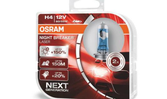 OSRAM picks up Auto Express 'Best Buy' win for Night Breaker Laser