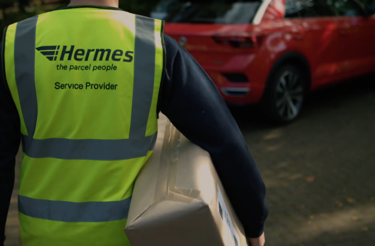 VW trials service which allows couriers to unlock owner's car and leave parcel in boot