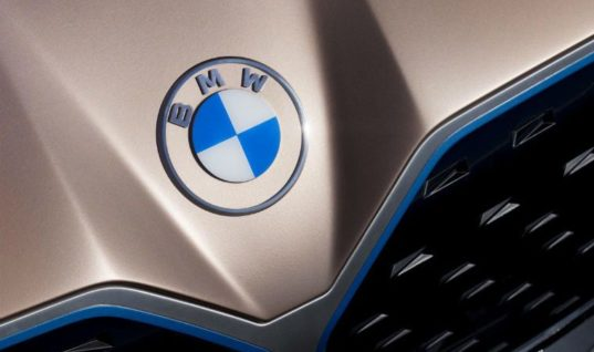 BMW unveils 'flat logo' in first rebrand for two decades