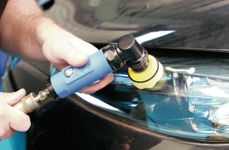 Laser Tools spot repair sander and polisher kit