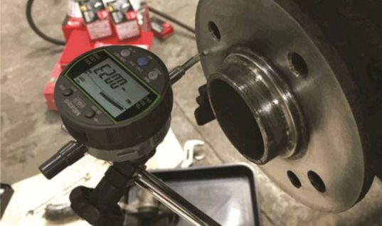 Recurring brake judder solved with hub run out measurement