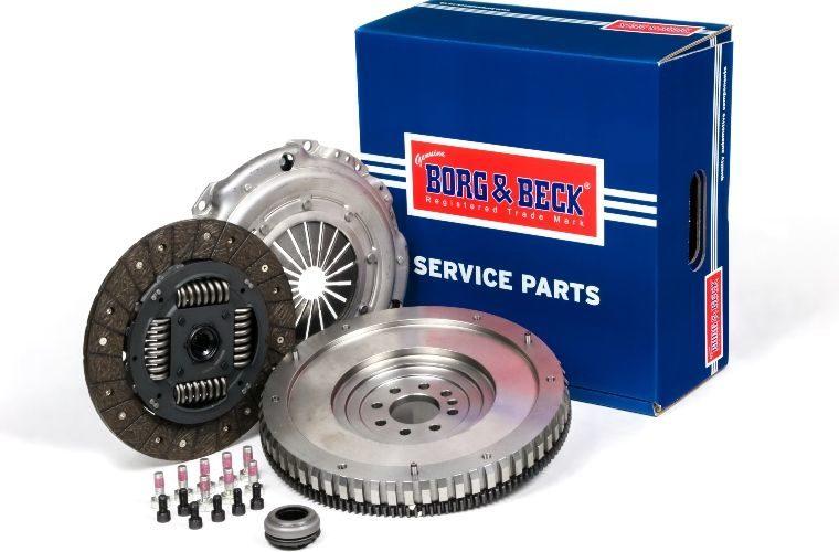 Borg & Beck claims advantages of single mass flywheel