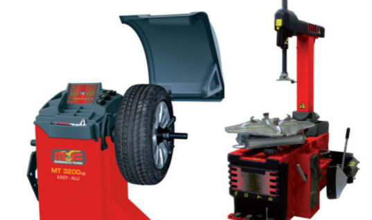 Harvie promotes latest Mondolfo Ferro tyre changing kit