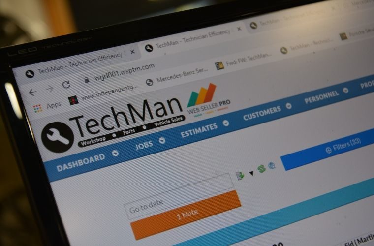 TechMan training and support for life, not just for new garages