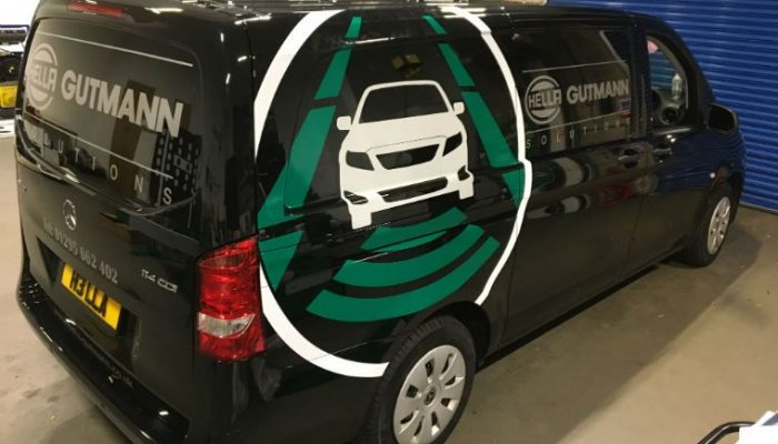Hella Gutmannn Solutions unveils newly wrapped vans