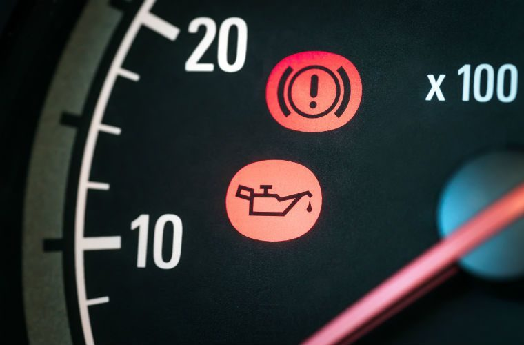 Motorists oblivious to dashboard warning lights