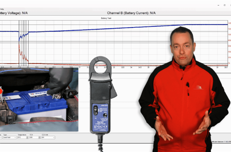 PicoScope battery testing covered in latest Our Virtual Academy release