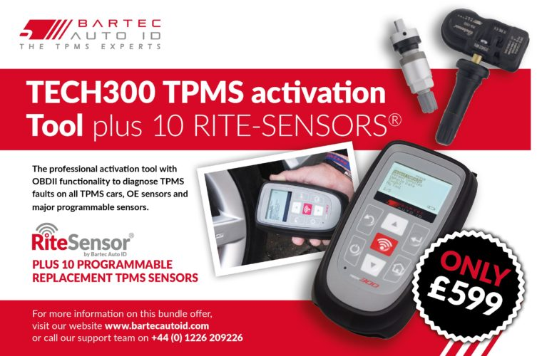 TPMS activation tool deal with free sensors from Bartec