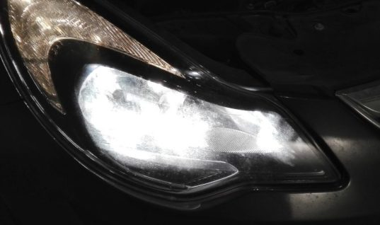 Millions of cars on UK roads with defective headlights, study suggests