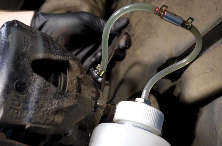 Brake bleed valve from Laser Tools