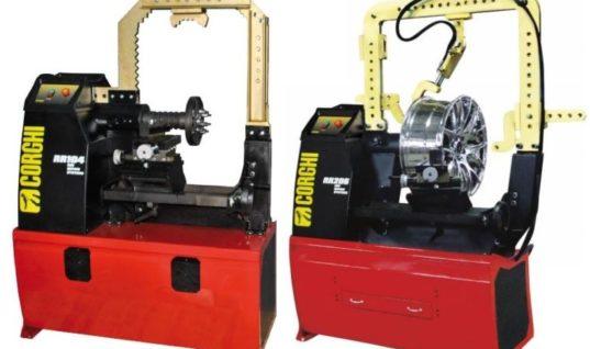 Corghi rim repair system deals at REMA TIP TOP