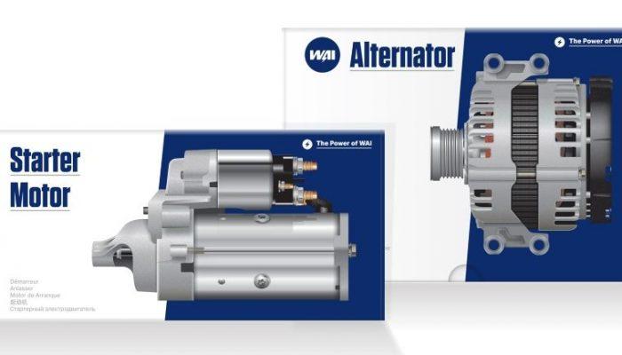New starter motors added to WAI range