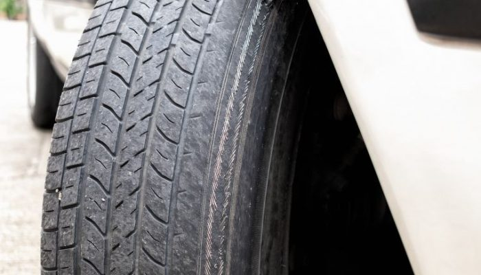 Illegal tyres common on UK roads, data shows