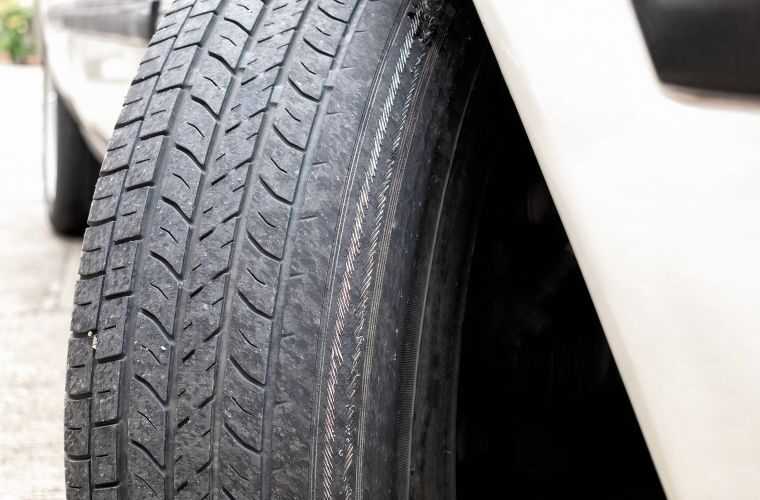Tyre fitter caught driving car with bald tyre banned from roads