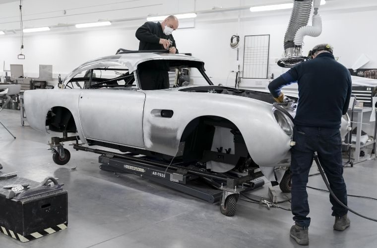 Aston Martin DB5 production resumes after 55 years with limited run