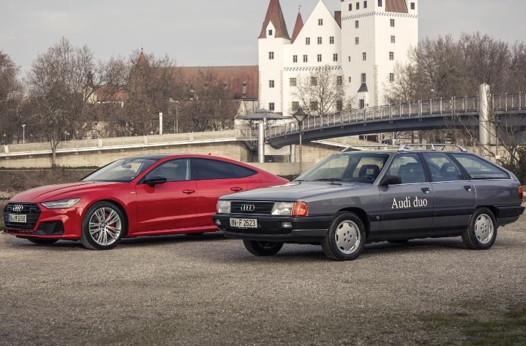Audi's first hybrid came much earlier than you'd think