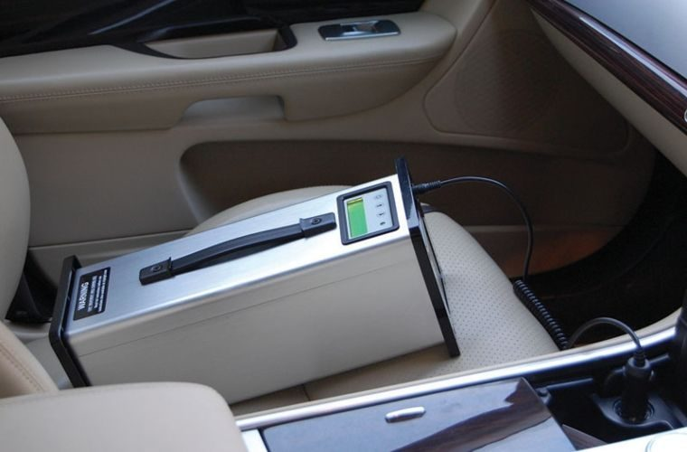 Purifier kills in-vehicle viruses and germs