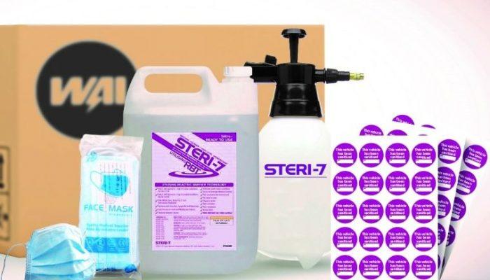 """Remain vigilant"", says firm behind popular STERI-7 disinfectant"