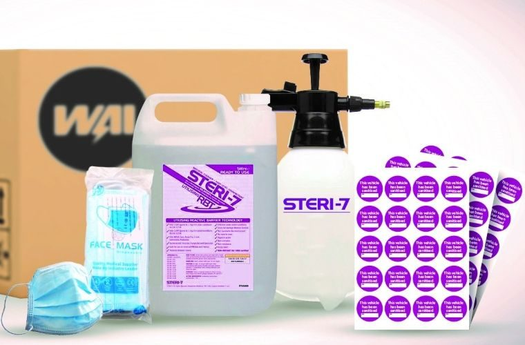 Workshops embrace WAIglobal vehicle sanitiser kits