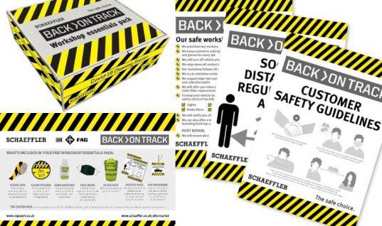 Schaeffler distributes free workshop essentials packs