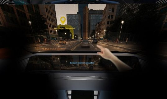 Ultra-compact Osram infrared LED enables gesture control in car interiors
