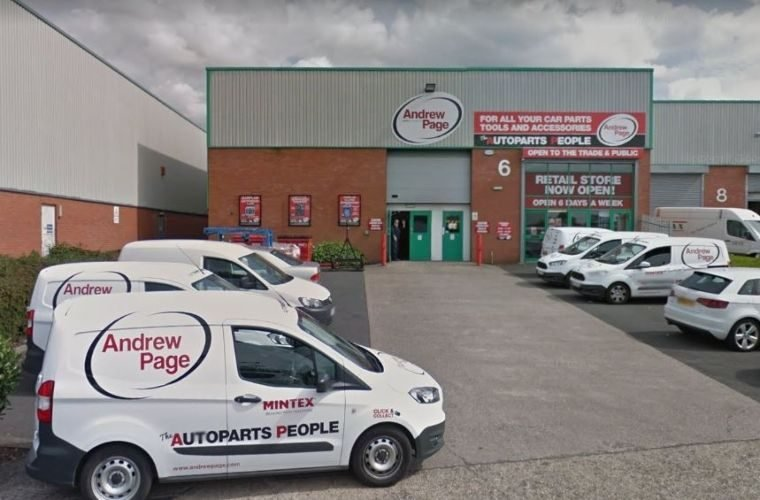 Andrew Page to be rebranded as LKQ Euro Car Parts