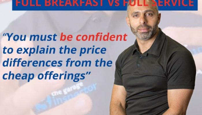 Watch: Andy Savva draws parallels between a 'full English' and a 'full service'