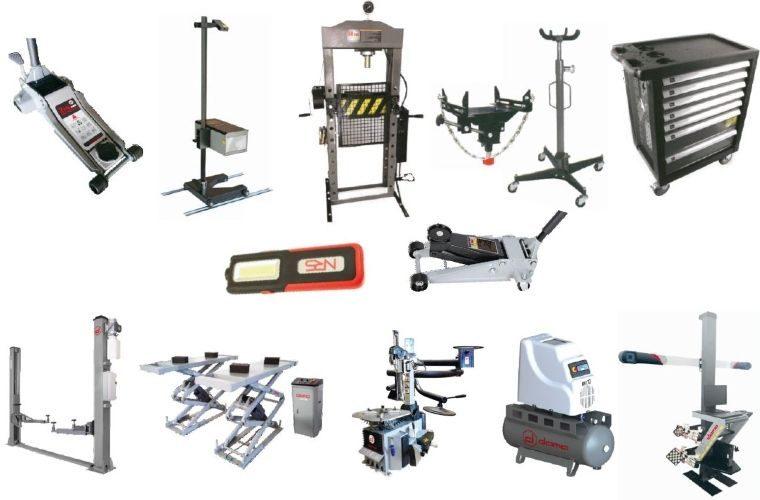 Dama garage equipment promotions