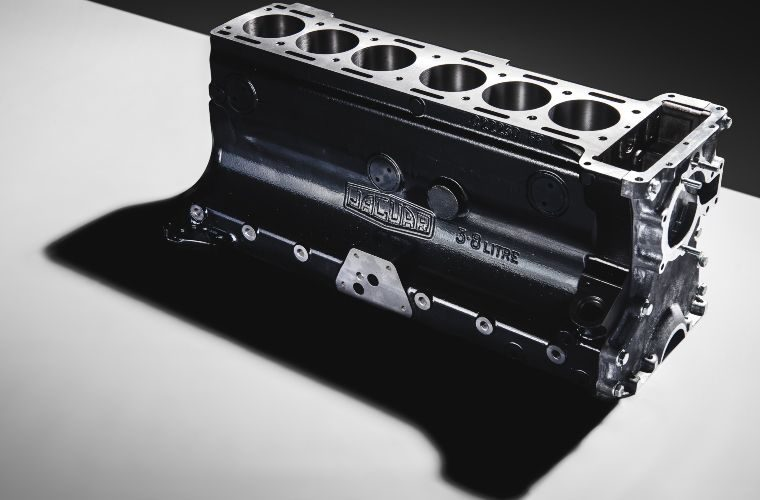 3.8-litre Jaguar XK engine blocks originally produced from 1958 to 1968 back in production