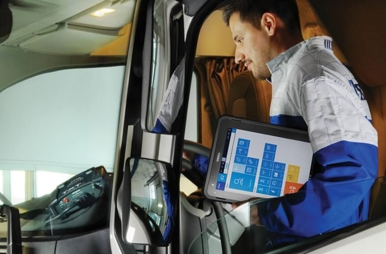 Watch: Interactive TEXA dashboards and wiring diagrams for trucks