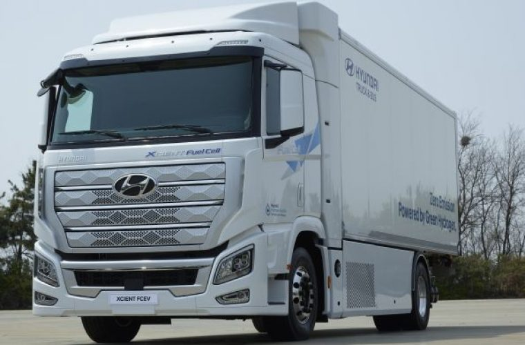 Hyundai ships world's first fuel cell 'heavy duty' truck for commercial use