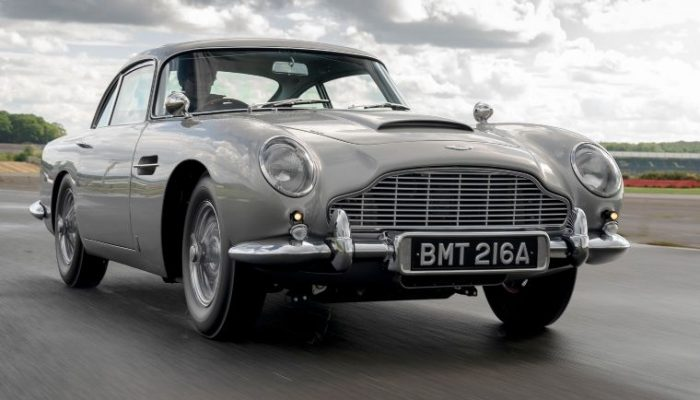 Video: First new Aston Martin DB5 rolls off production line
