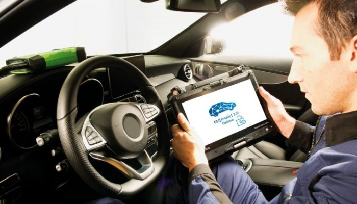 Bosch Esitronic update opens access to Mercedes-Benz data