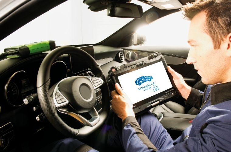Bosch Esitronic update opens access to Mercedes-Benz data
