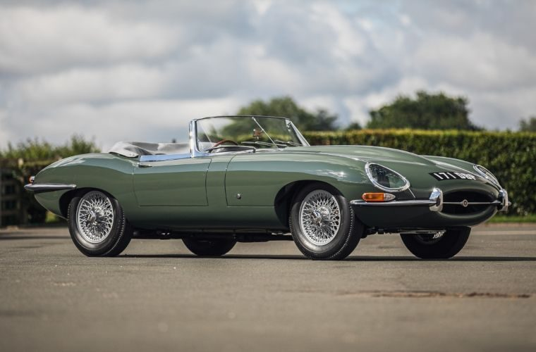 Steve Coogan to sell his early E-Type dealer demonstrator