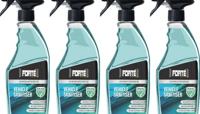 Forte launches new vehicle sanitiser