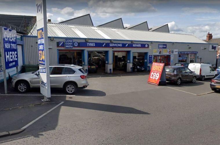 Mechanic struck by speeding car outside Leeds garage