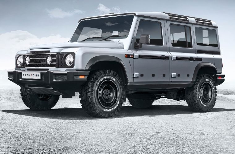 First pictures of British billionaire's version of original Land Rover Defender