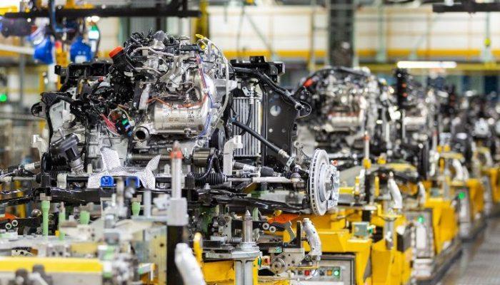 UK car production at lowest level since 1964