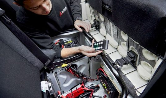 New smart wireless tech for vehicle conversion sector
