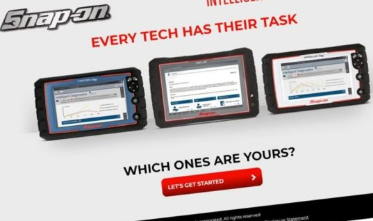 Snap-on adds APOLLO-D8 to online 'tool matcher'